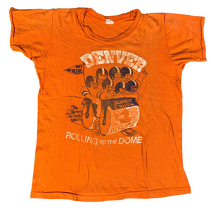"Vintage Denver Broncos ""Rolling To The Dome"" Kid's T-Shirt"