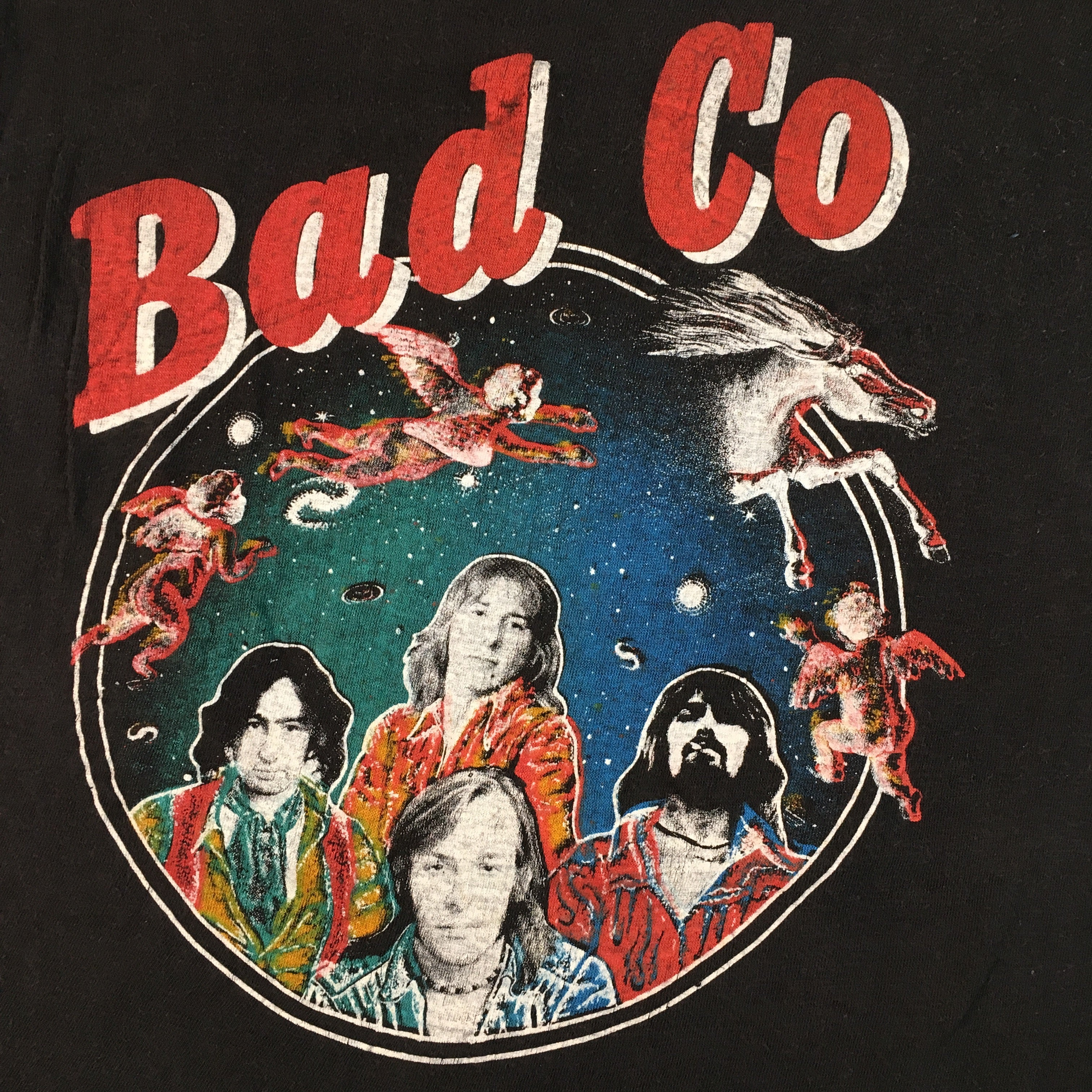 "Vintage Bad Company ""Rock N Roll Fantasy"" T-Shirt"