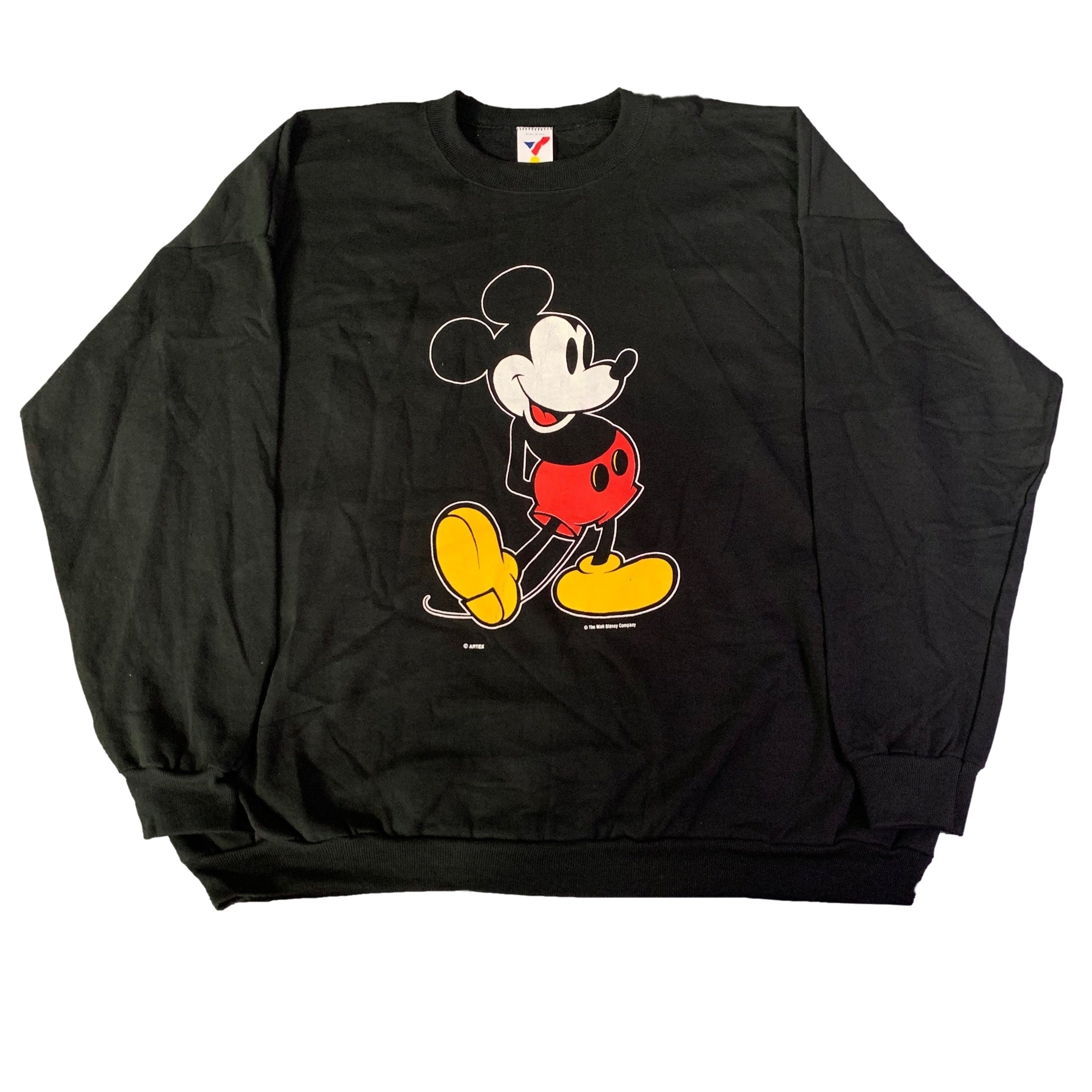 "Vintage Mickey Mouse ""Artex"" Crewneck Sweatshirt"