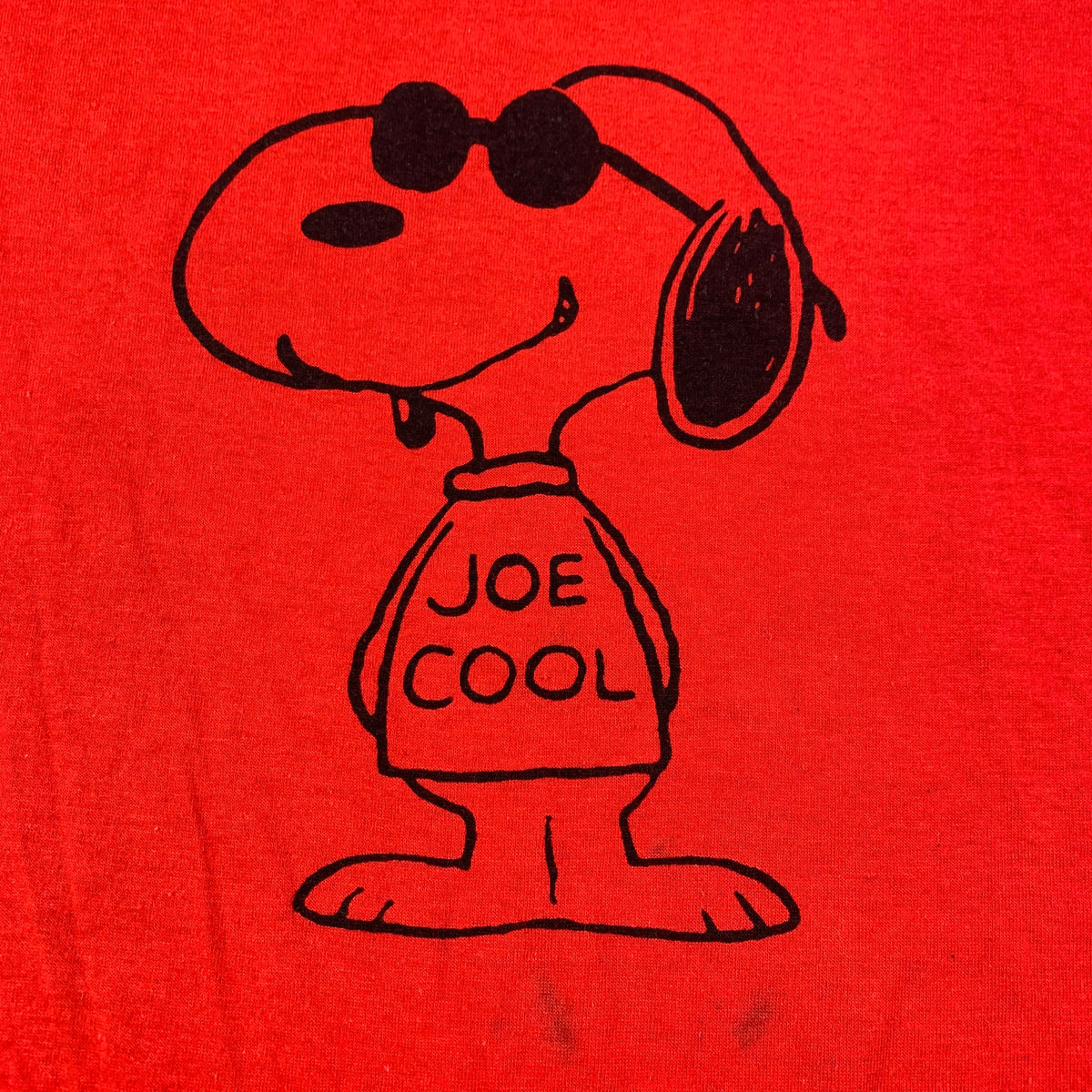"Vintage Snoopy ""Joe Cool"" T-Shirt"