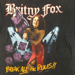 "Vintage Britny Fox ""Break All The Rules"" T-Shirt"