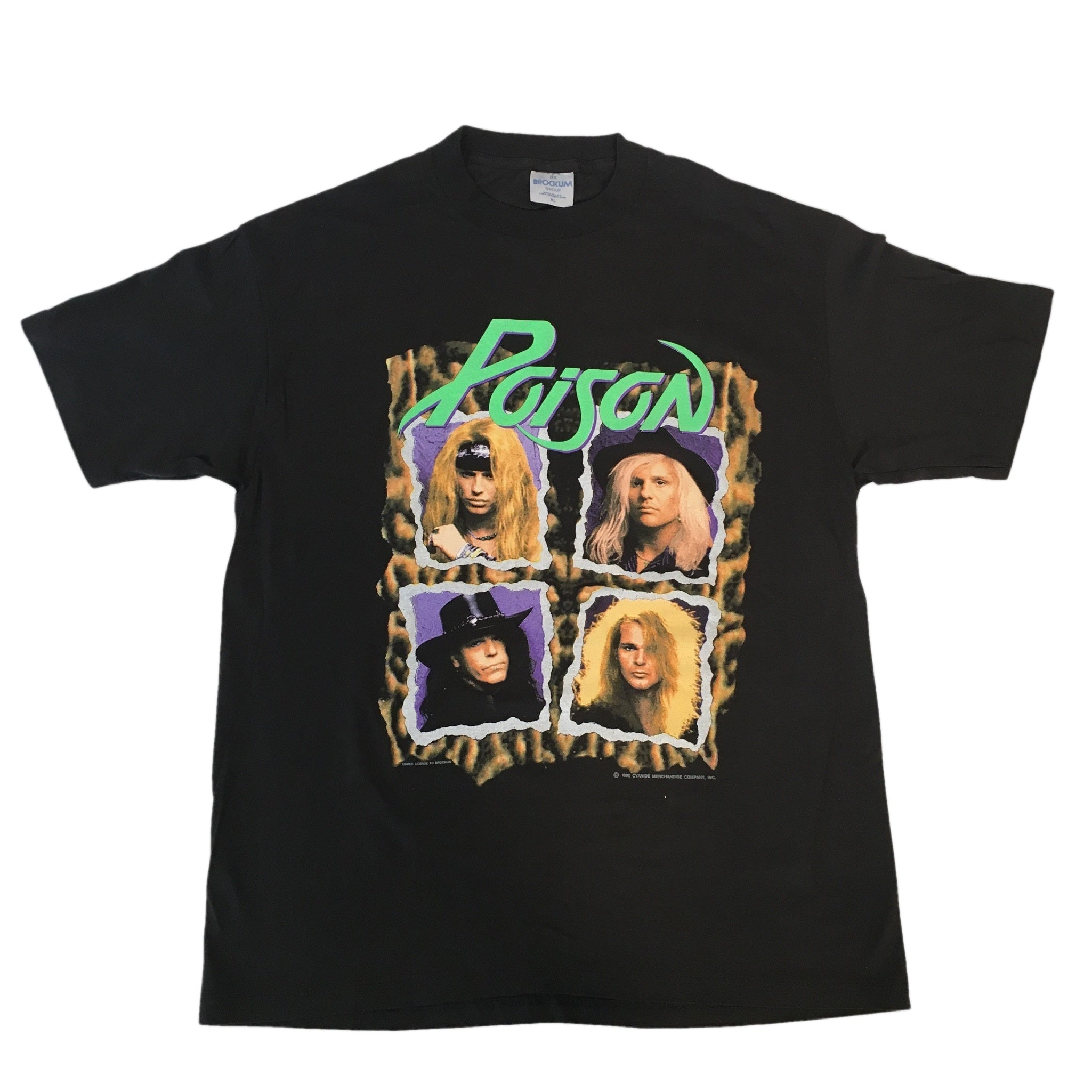 "Vintage Poison ""Flesh & Blood"" T-Shirt"