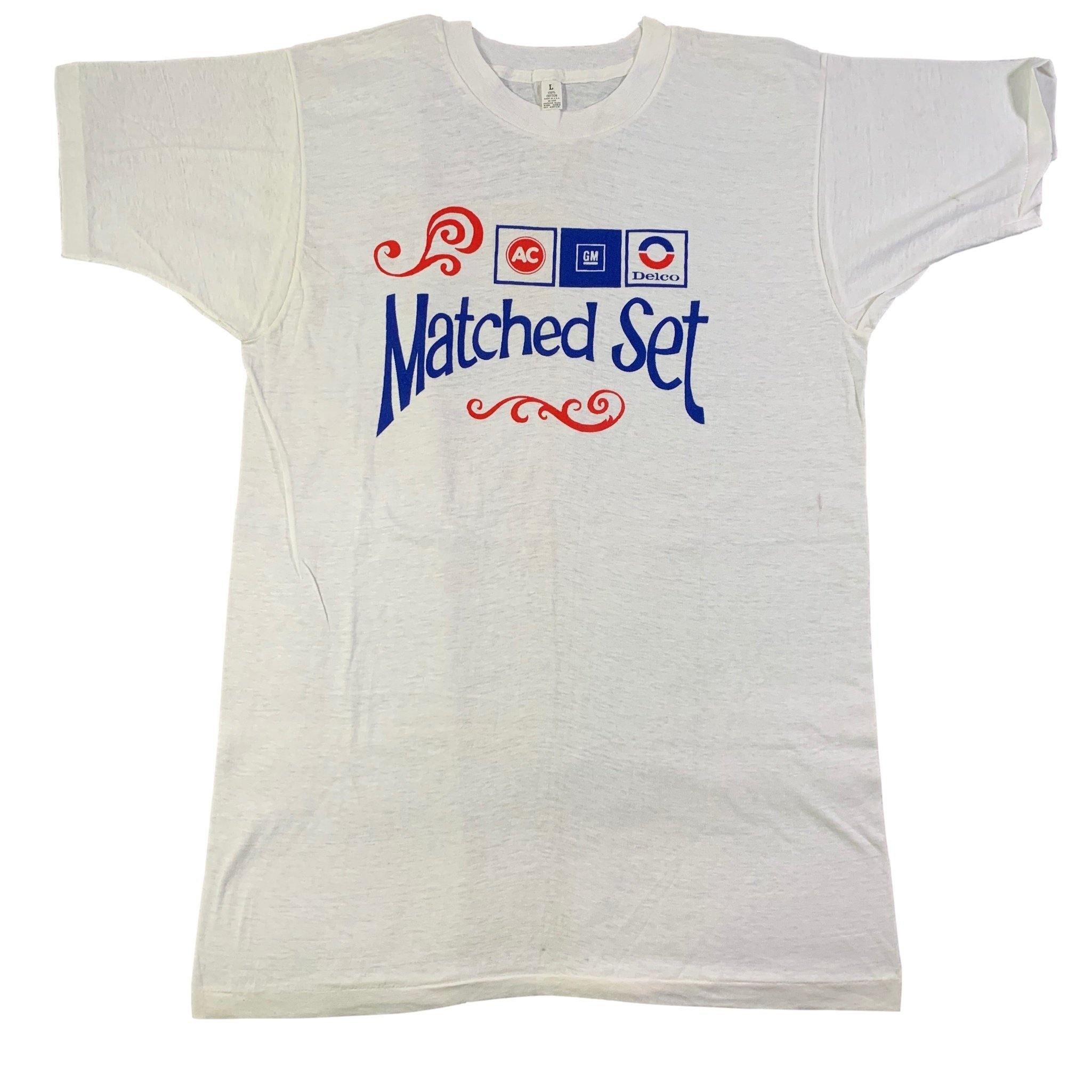"Vintage ACDelco ""Matched Set"" T-Shirt"