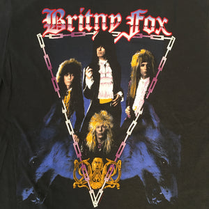 "Vintage Britny Fox ""Rock Revolution"" T-Shirt"