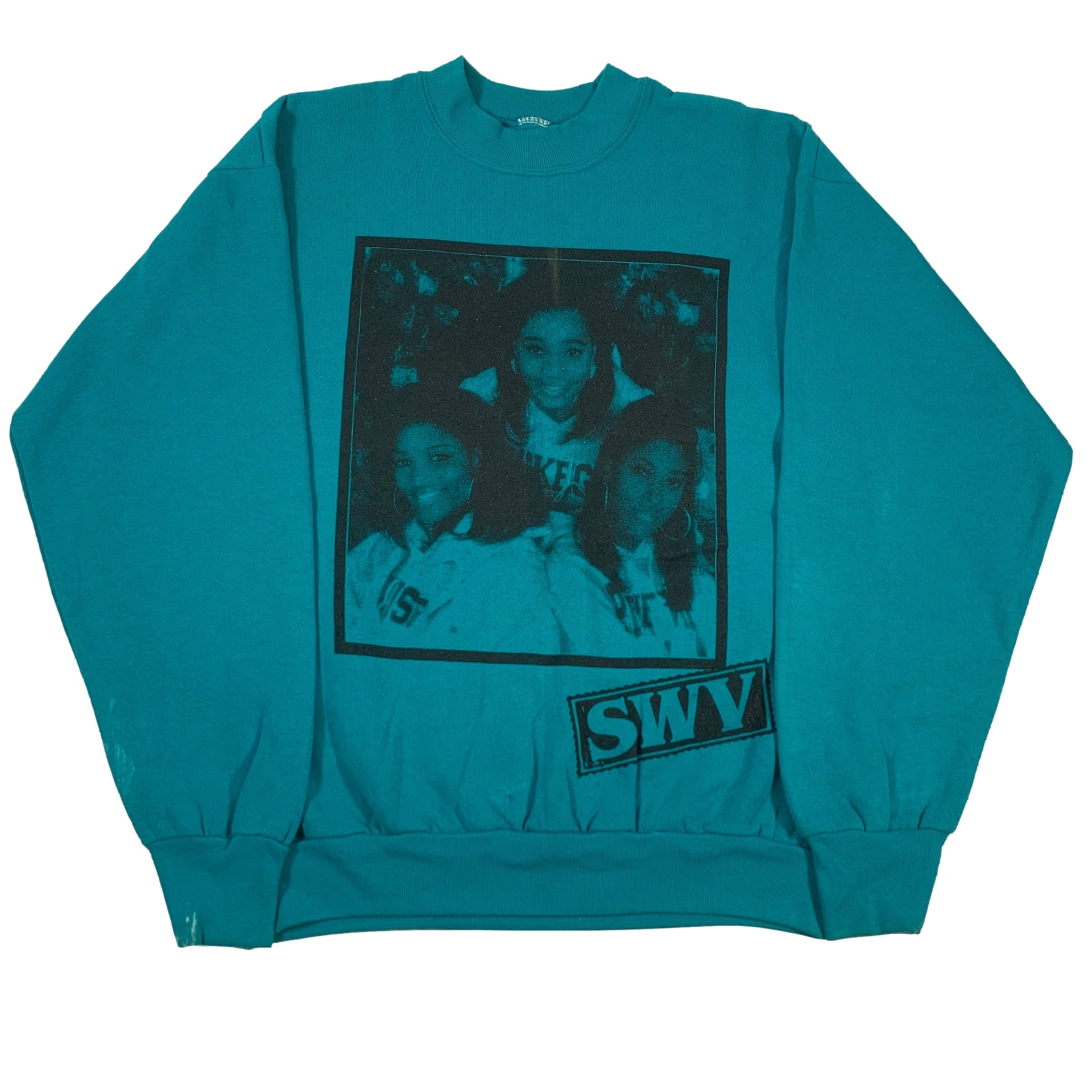 "Vintage SWV Nine Inch Nails ""Test Print"" Crewneck Sweatshirt"