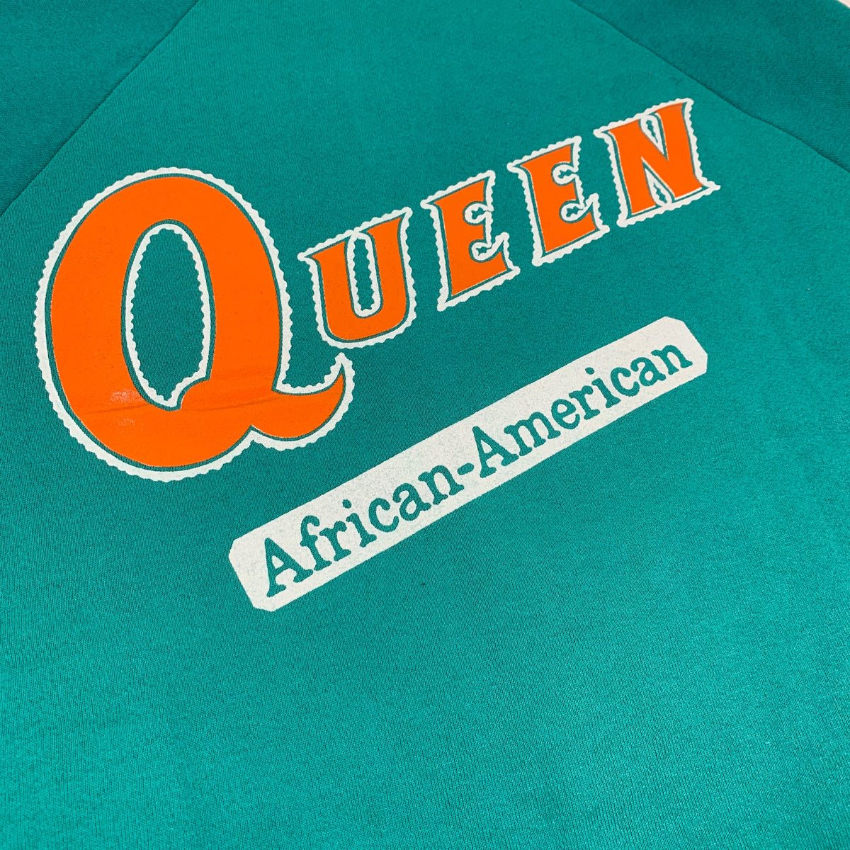 "Vintage Queen Latifah ""Queen"" Crewneck Sweatshirt"
