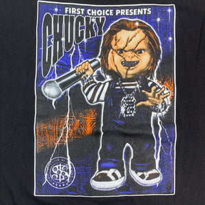 "Vintage Blinged Out Chucky ""Child's Play"" T-Shirt"