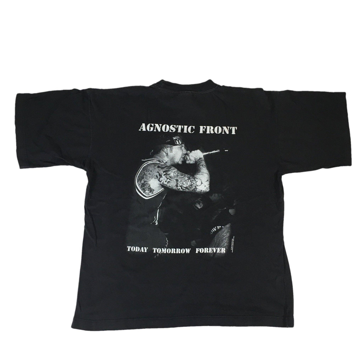 "Vintage Agnostic Front ""Today Tomorrow Forever"" T-Shirt - jointcustodydc"
