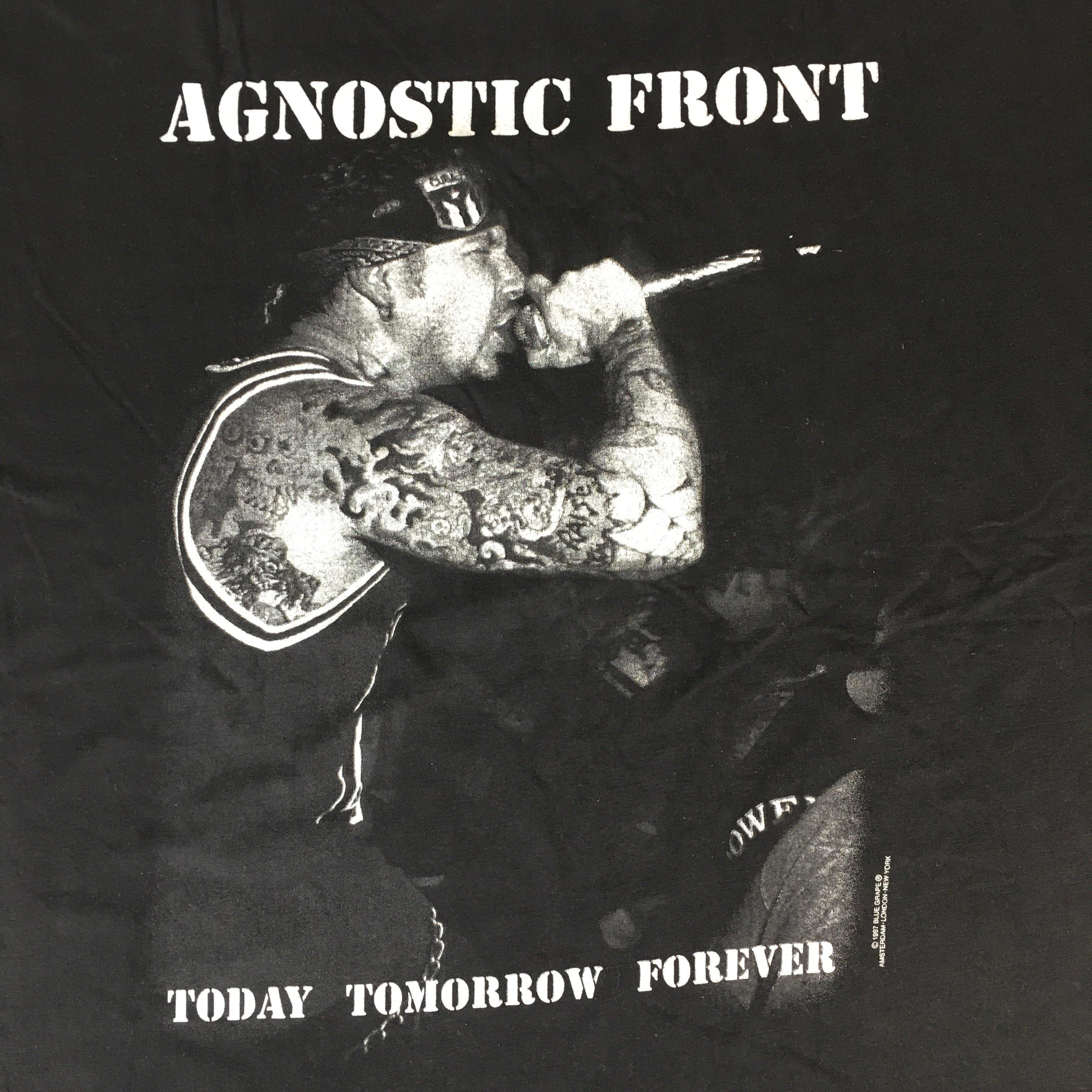 "Vintage Agnostic Front ""Today Tomorrow Forever"" T-Shirt"