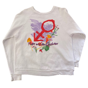 "Vintage Prince & The Revolution ""Tour 84'"" Crewneck Sweatshirt"