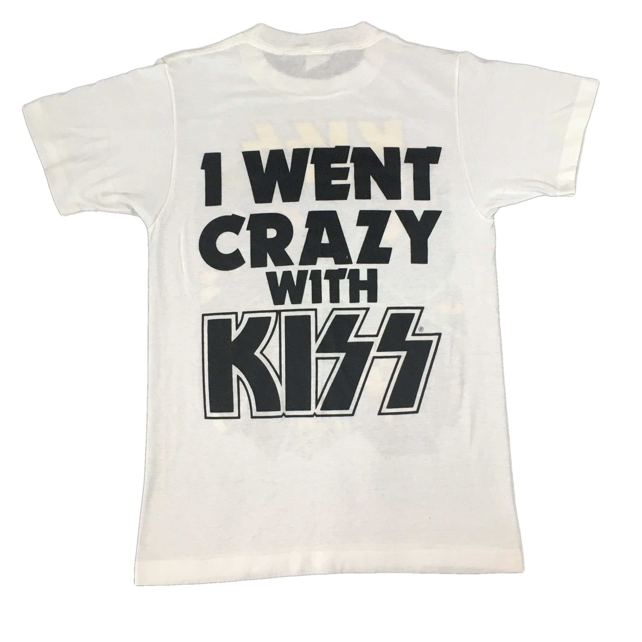 "Vintage KISS ""I Went Crazy With KISS"" T-Shirt"