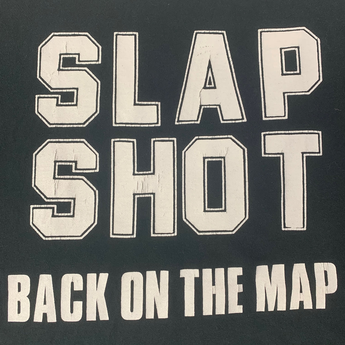 "Vintage Slapshot ""Back On The Map"" T-Shirt"