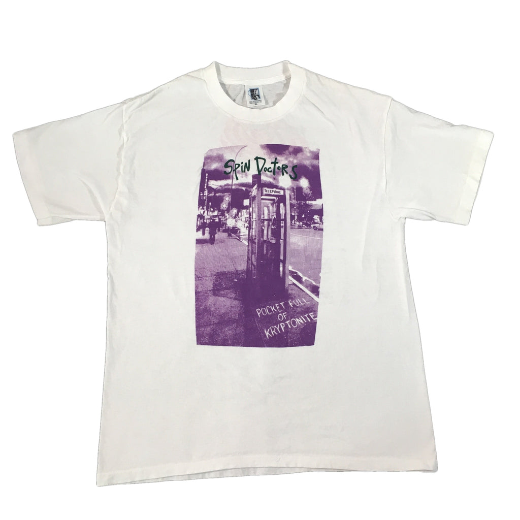 "Vintage Spin Doctors ""Pocket Full Of Kryptonite"" T-Shirt"