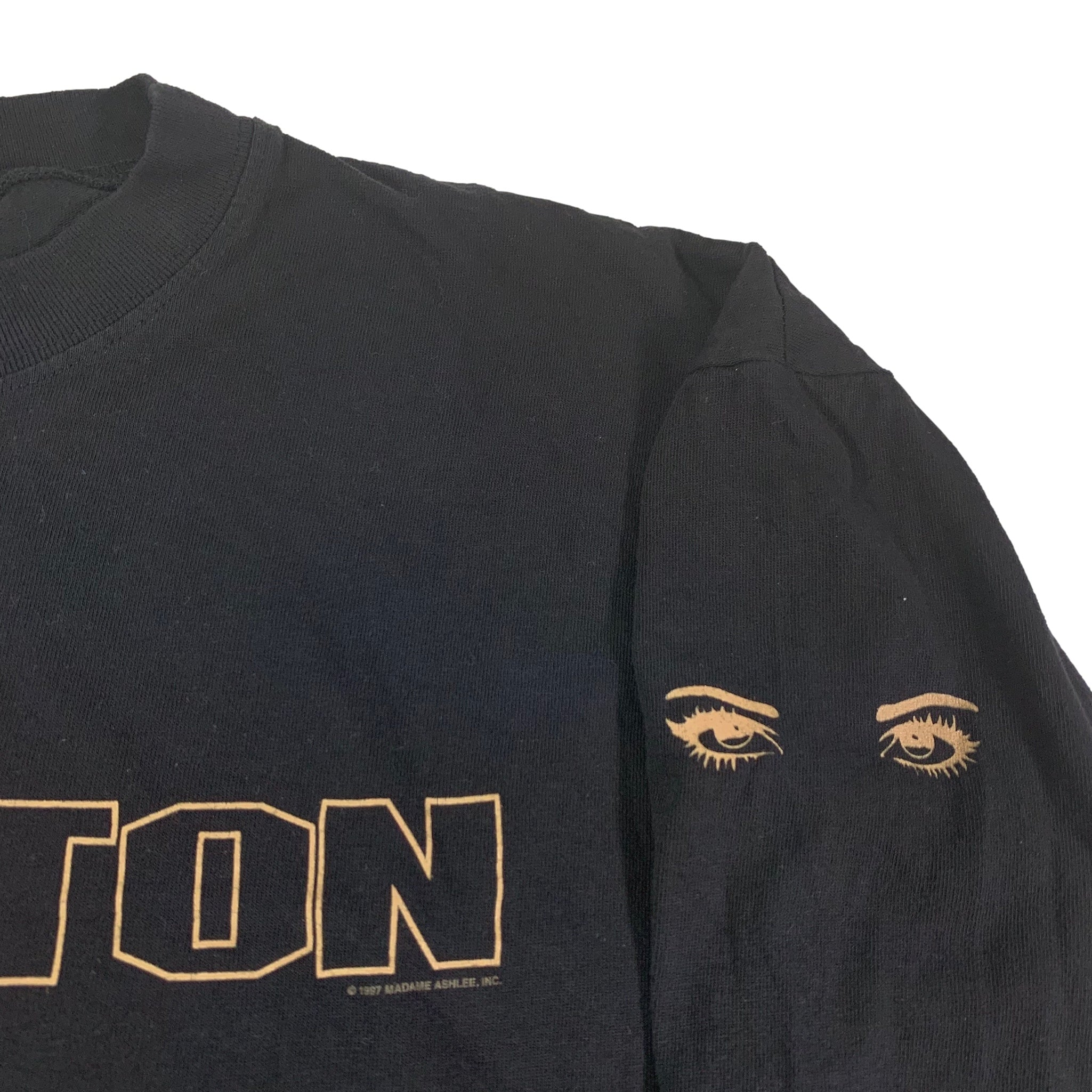 "Vintage Toni Braxton ""Secrets"" Two Tone Long Sleeve Shirt"