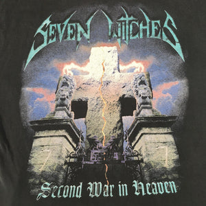 "Seven Witches ""Second War In Heaven"" T-Shirt"