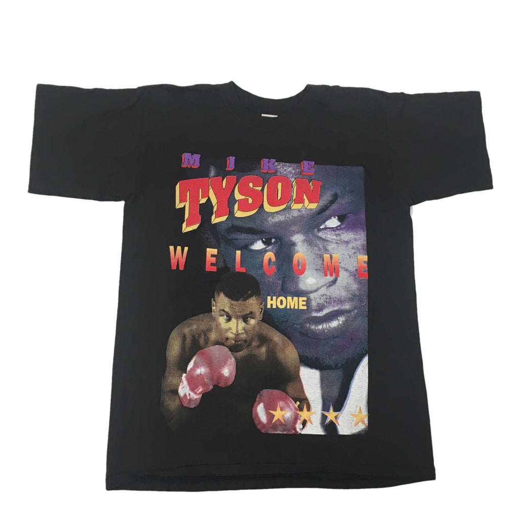 "Vintage Mike Tyson ""Welcome Home"" T-Shirt"