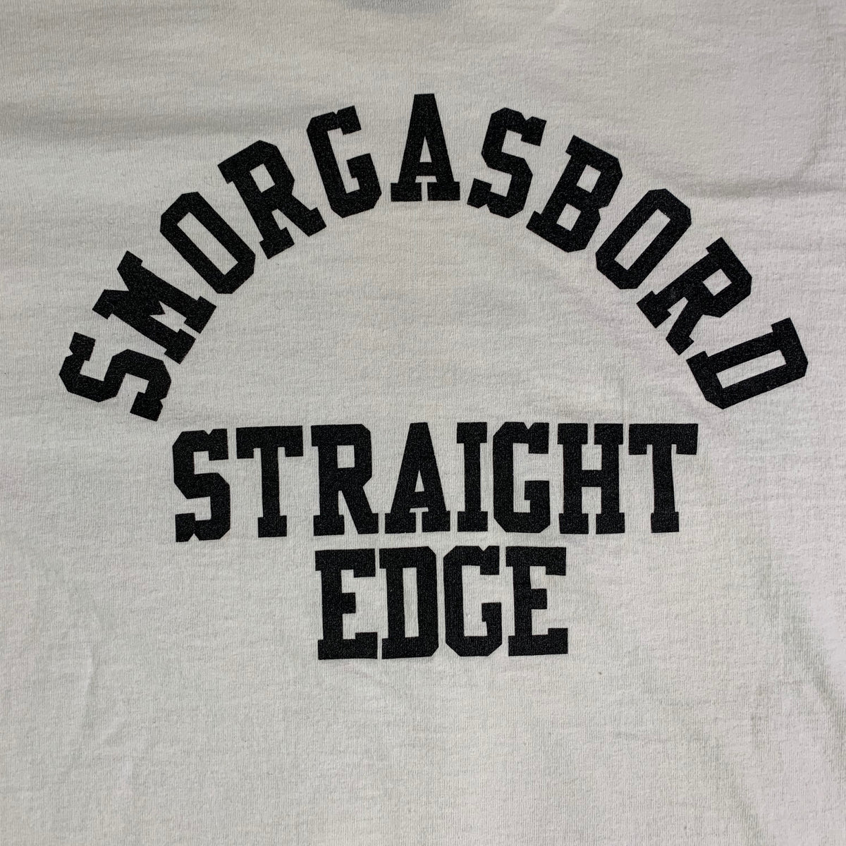 "Vintage Follow Through ""Smorgasbord Straight Edge"" T-Shirt"