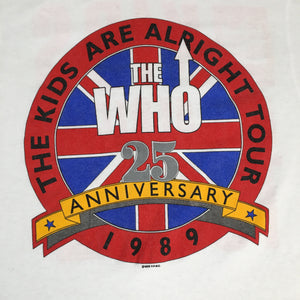 "Vintage The Who ""25th Anniversary"" T-Shirt"