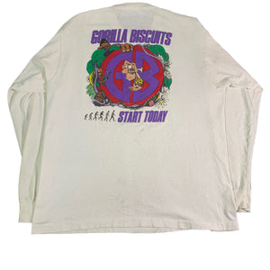 "Vintage Gorilla Biscuits ""Start Today"" Long Sleeve Shirt"
