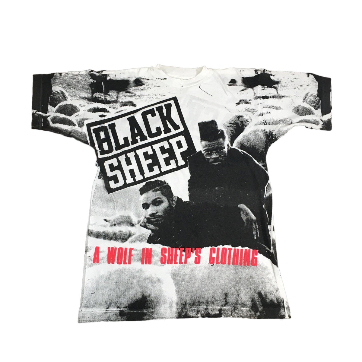 "Vintage Black Sheep ""A Wolf In Sheep's Clothing"" T-Shirt - jointcustodydc"
