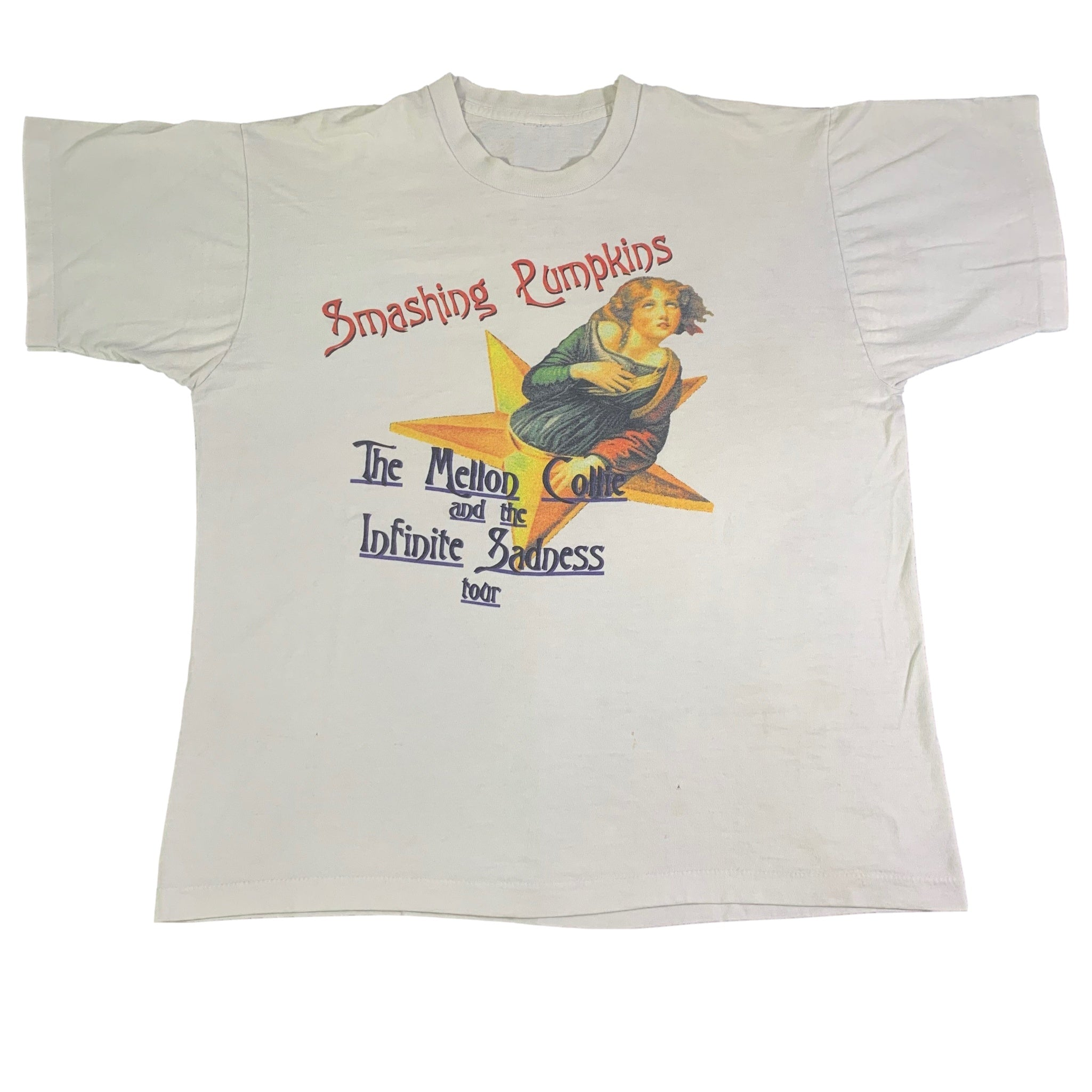 "Vintage Smashing Pumpkins ""The Mellon Collie And The Infinite Sadness"" T-Shirt"
