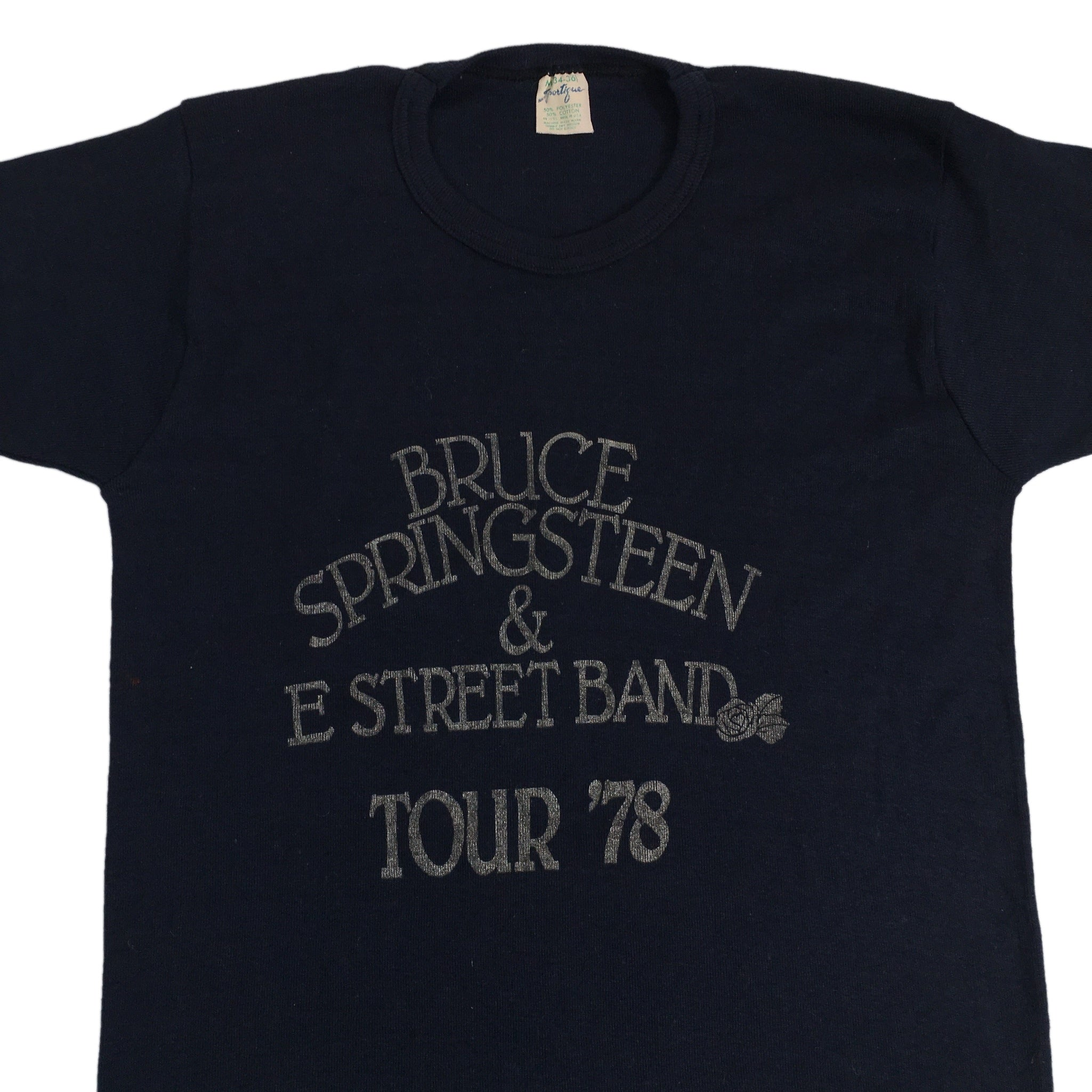 "Vintage Bruce Springsteen & E Street Band ""Tour 78"" T-Shirt"