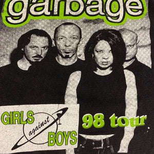 "Vintage Garbage ""Girls Against Boys"" T-Shirt"