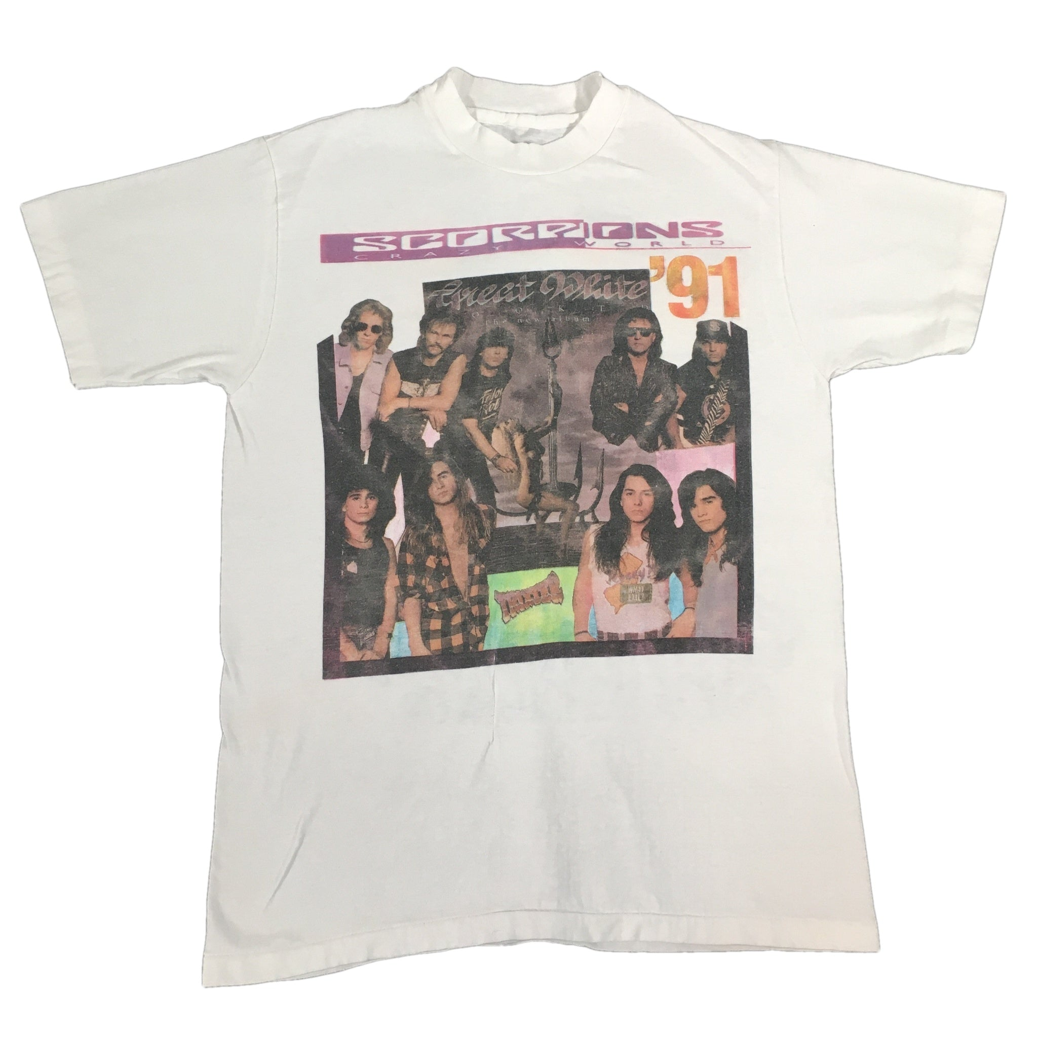 "Vintage Scorpions ""Crazy World"" T-Shirt"