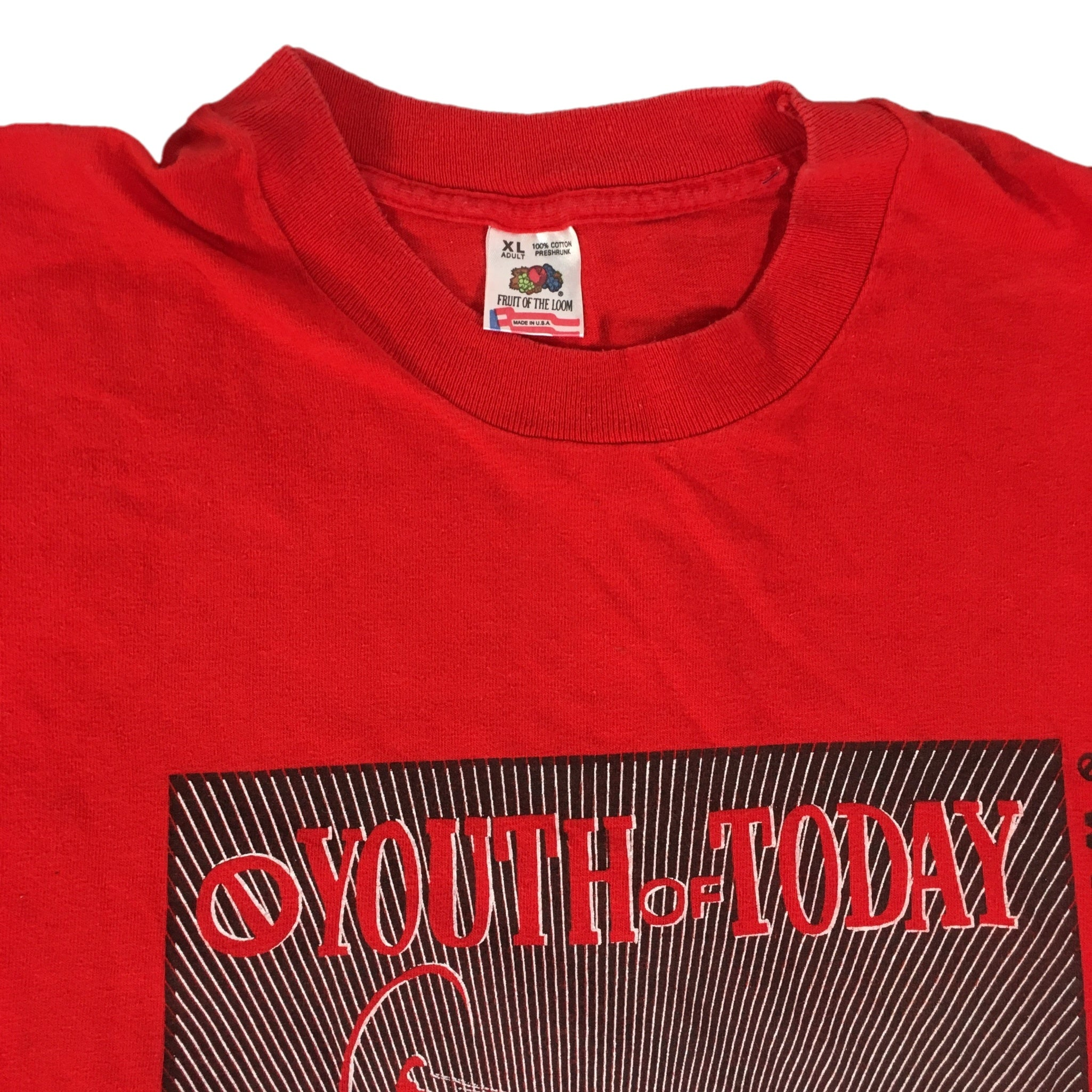 "Vintage Youth Of Today ""We're Not In This Alone"" T-Shirt"