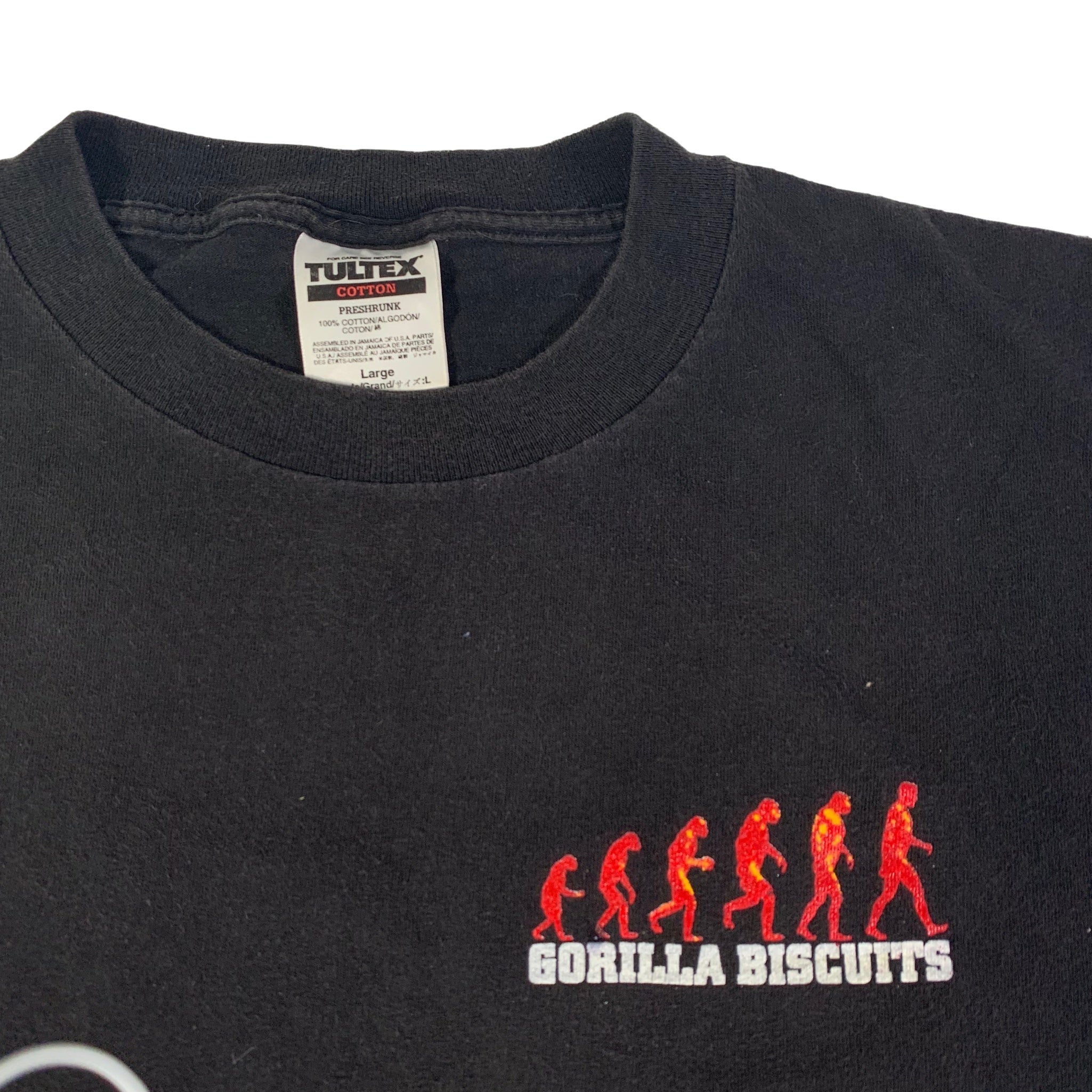 "Vintage Gorilla Biscuits ""Revelation Records"" T-Shirt"