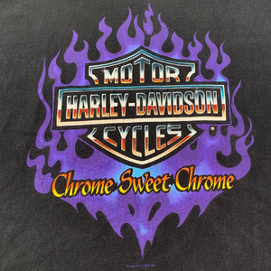 "Vintage Harley-Davidson ""Chrome Sweet Chrome"" T-Shirt"