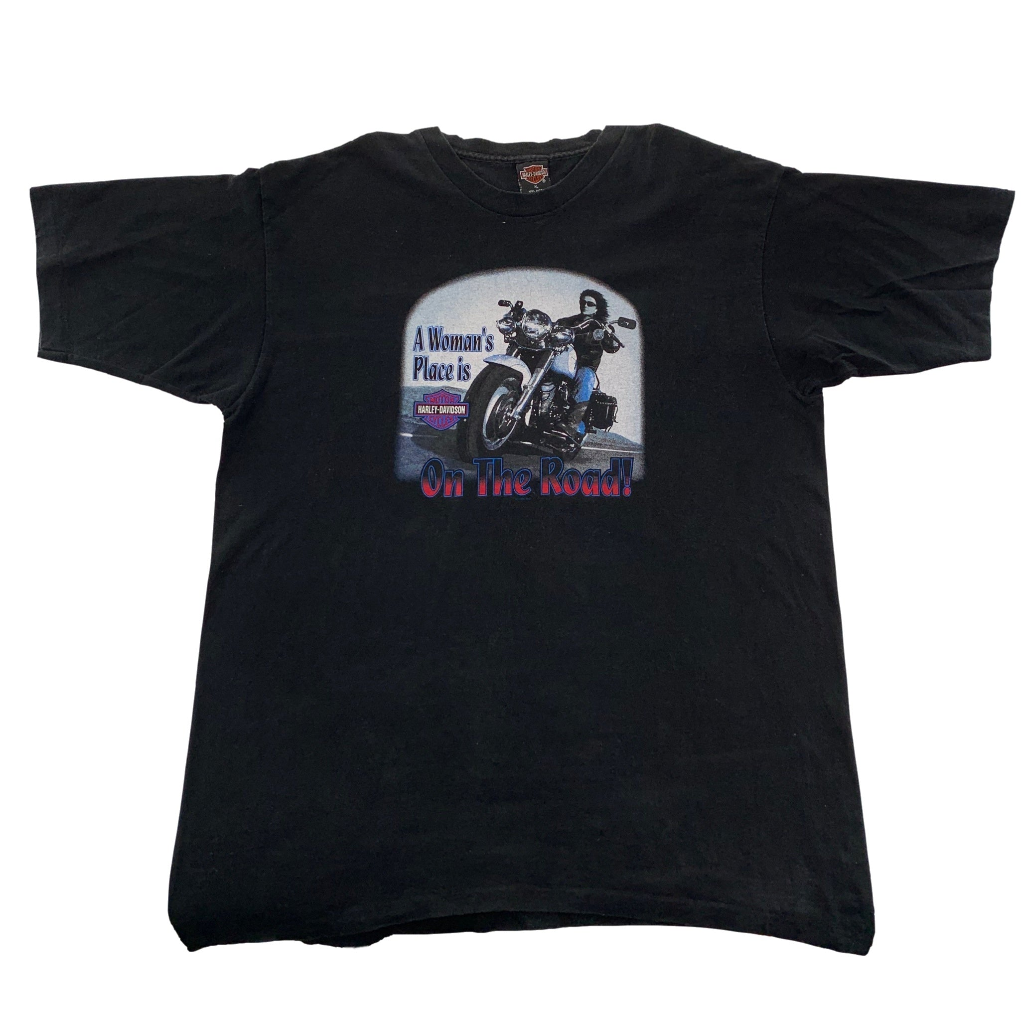 "Vintage Harley-Davidson ""On The Road"" T-Shirt"