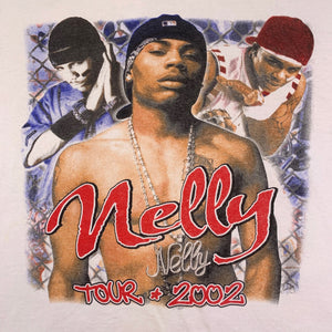 "Vintage Nelly ""2002"" Tour Ringer Shirt"