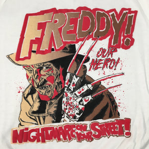 "Vintage Freddy Krueger ""Nightmare On Your Street!"" Crewneck"