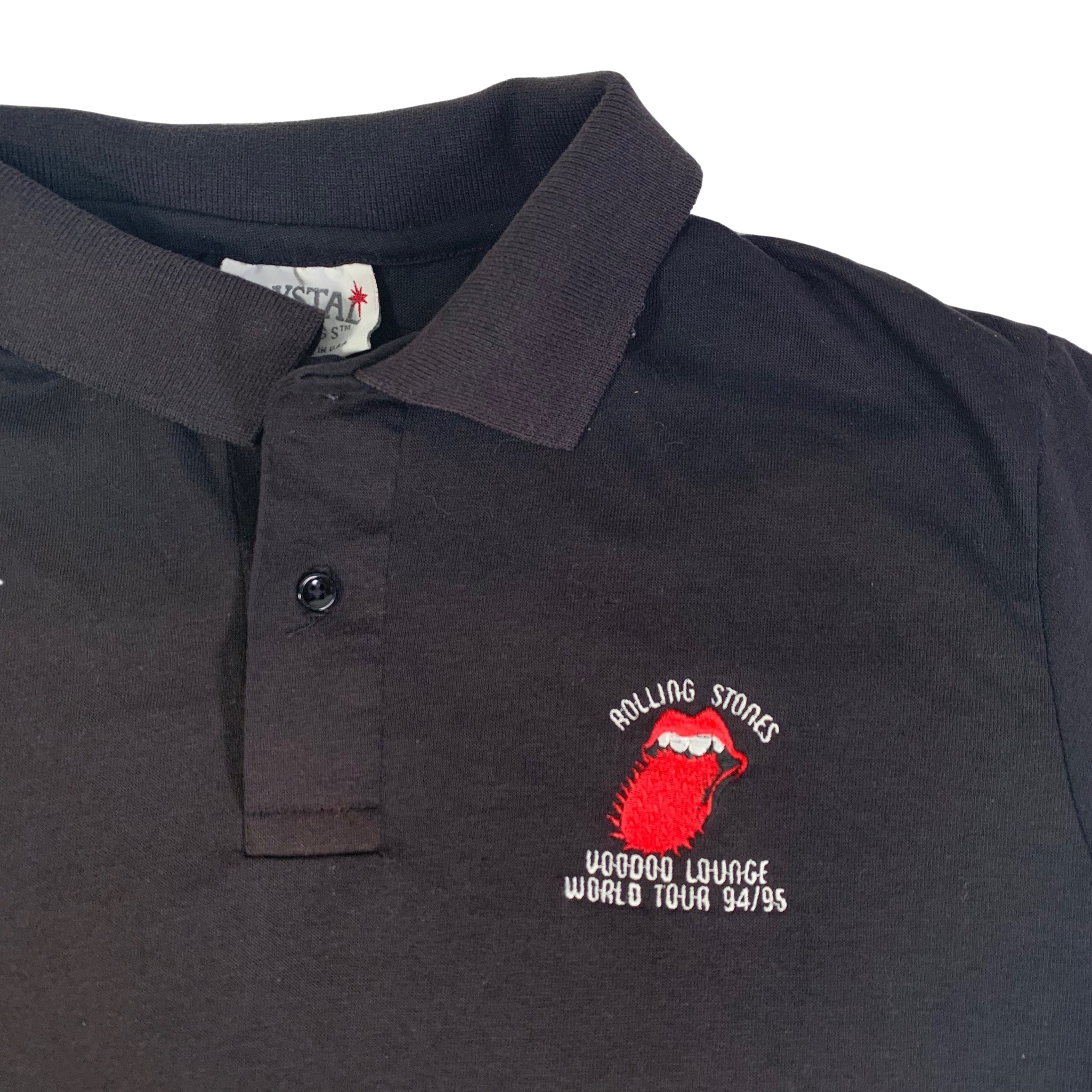"Vintage The Rolling Stones ""Voodoo Lounge"" Polo Shirt"