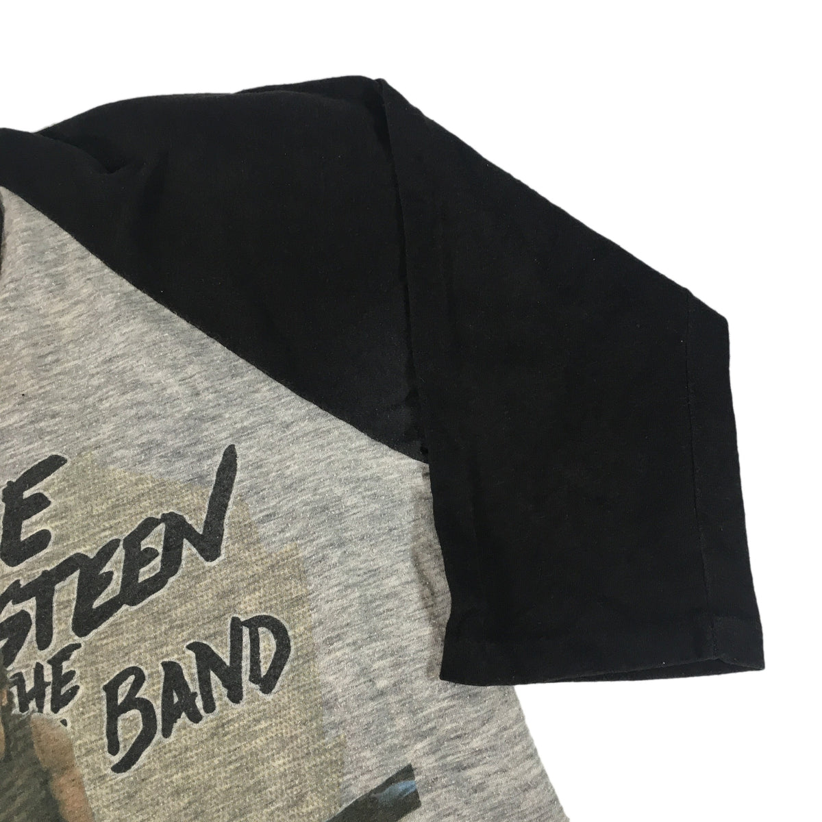 "Vintage Bruce Springsteen & The E Street Band ""Born In The USA"" Raglan"