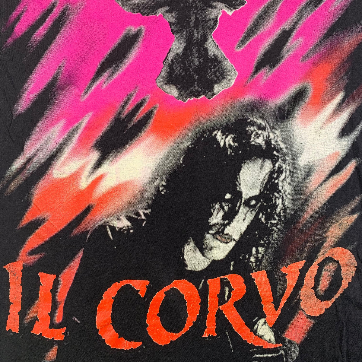 "Vintage The Crow City Of Angels ""Il Corvo"" T-Shirt"