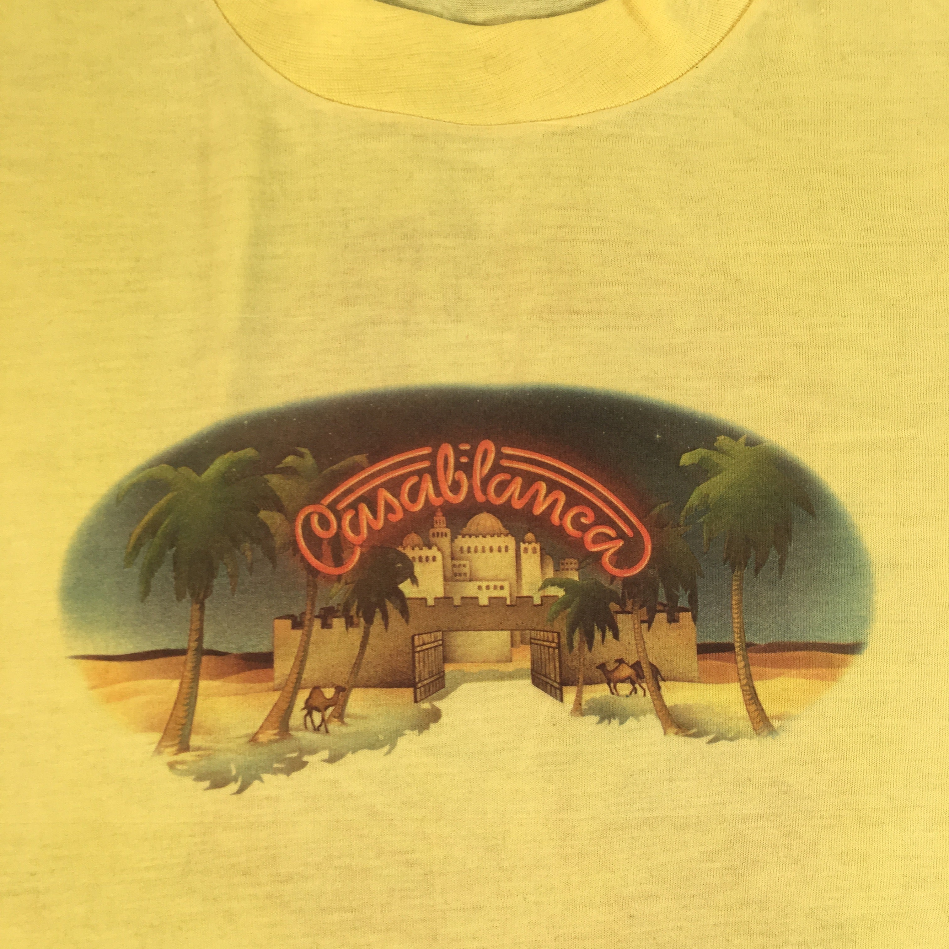 "Vintage Casablanca Records ""The Image Is Clearer"" T-Shirt"