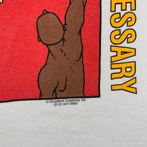 "Vintage We Must Help Each Other ""By Any Means Necessary"" T-Shirt"