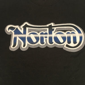 "Vintage Norton Motorcycles ""British Only"" T-Shirt"