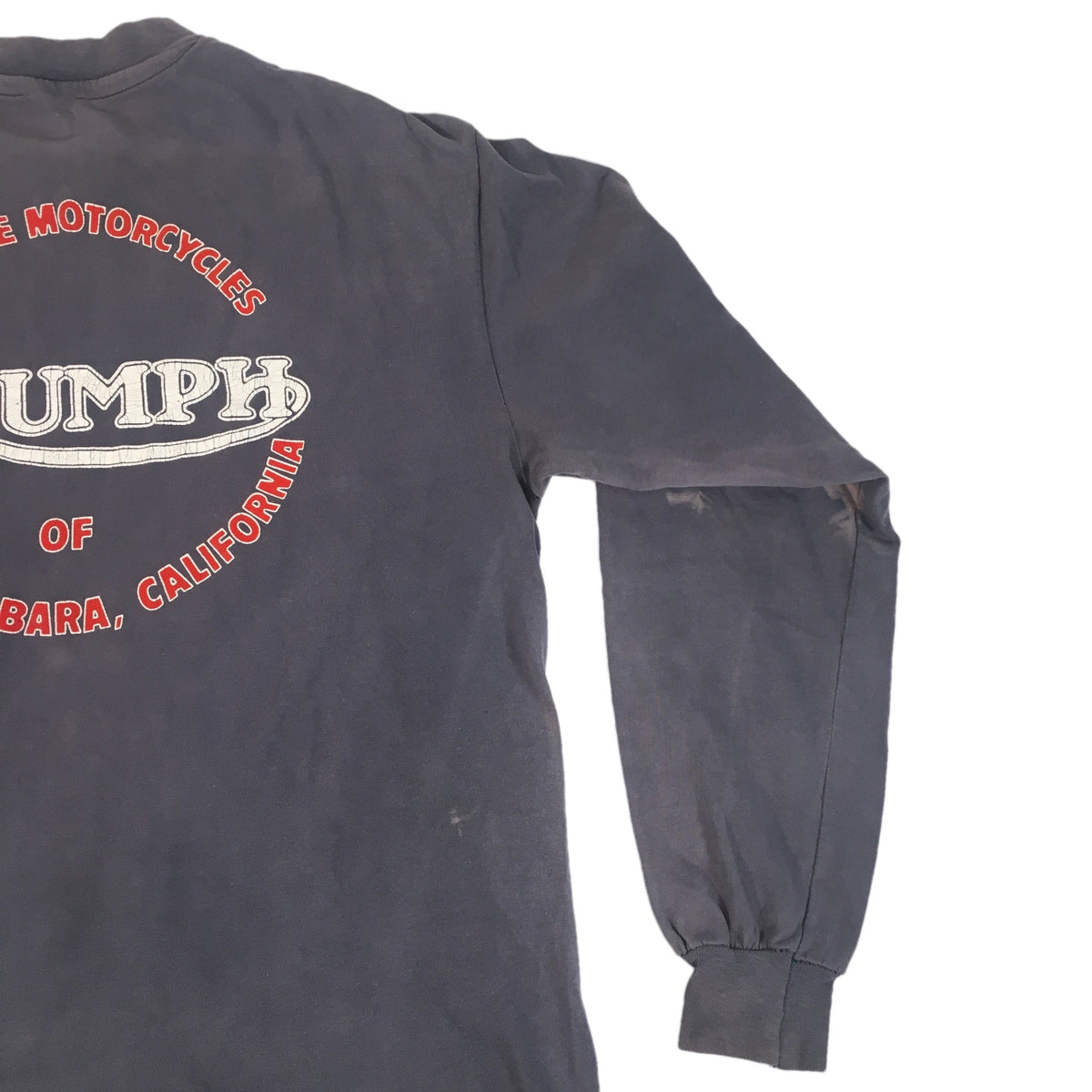 "Vintage Triumph Motorcycles ""Santa Barbara"" Long Sleeve"