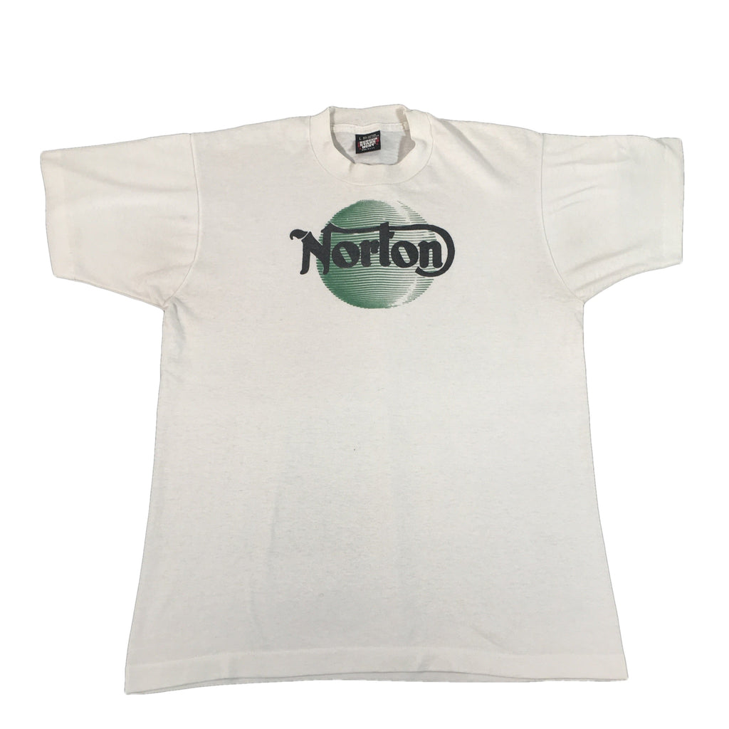 "Vintage Norton Motorcycles ""Green Logo"" T-Shirt"