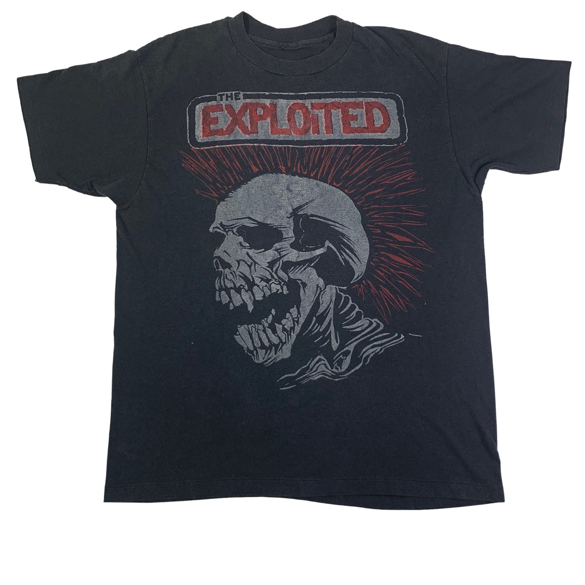"Vintage The Exploited ""Let's Start A War"" T-Shirt"