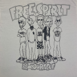 "Vintage Free Spirit ""Be Yourself"" T-Shirt"