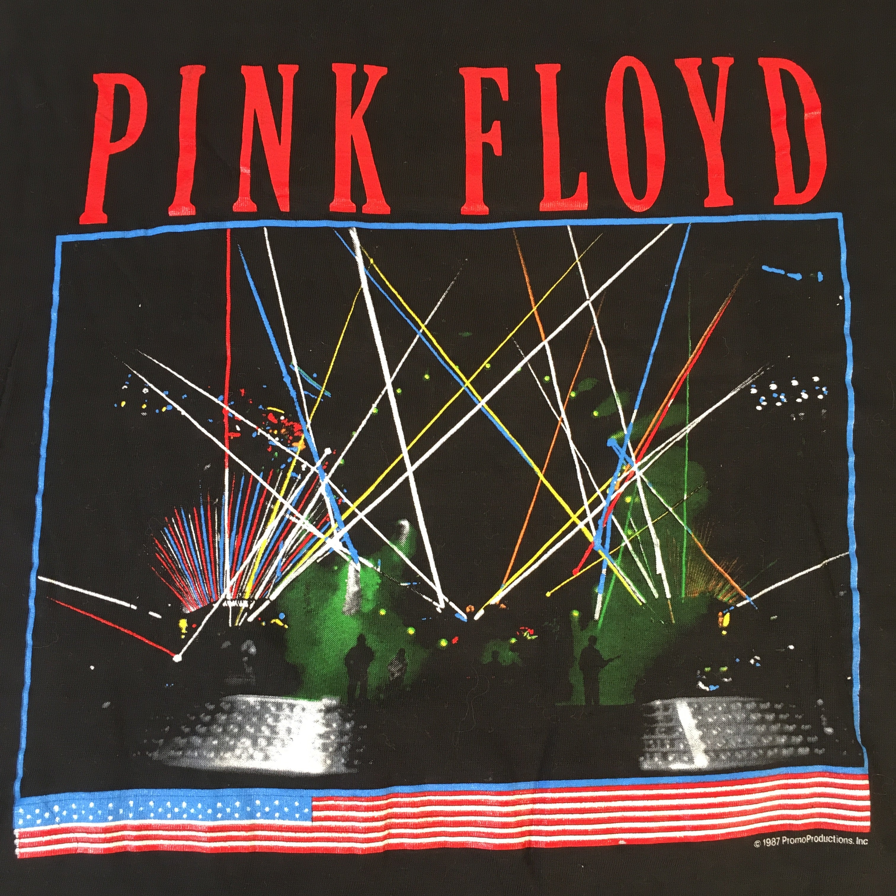 "Vintage Pink Floyd ""A Momentary Lapse Of Reason"" T-Shirt"