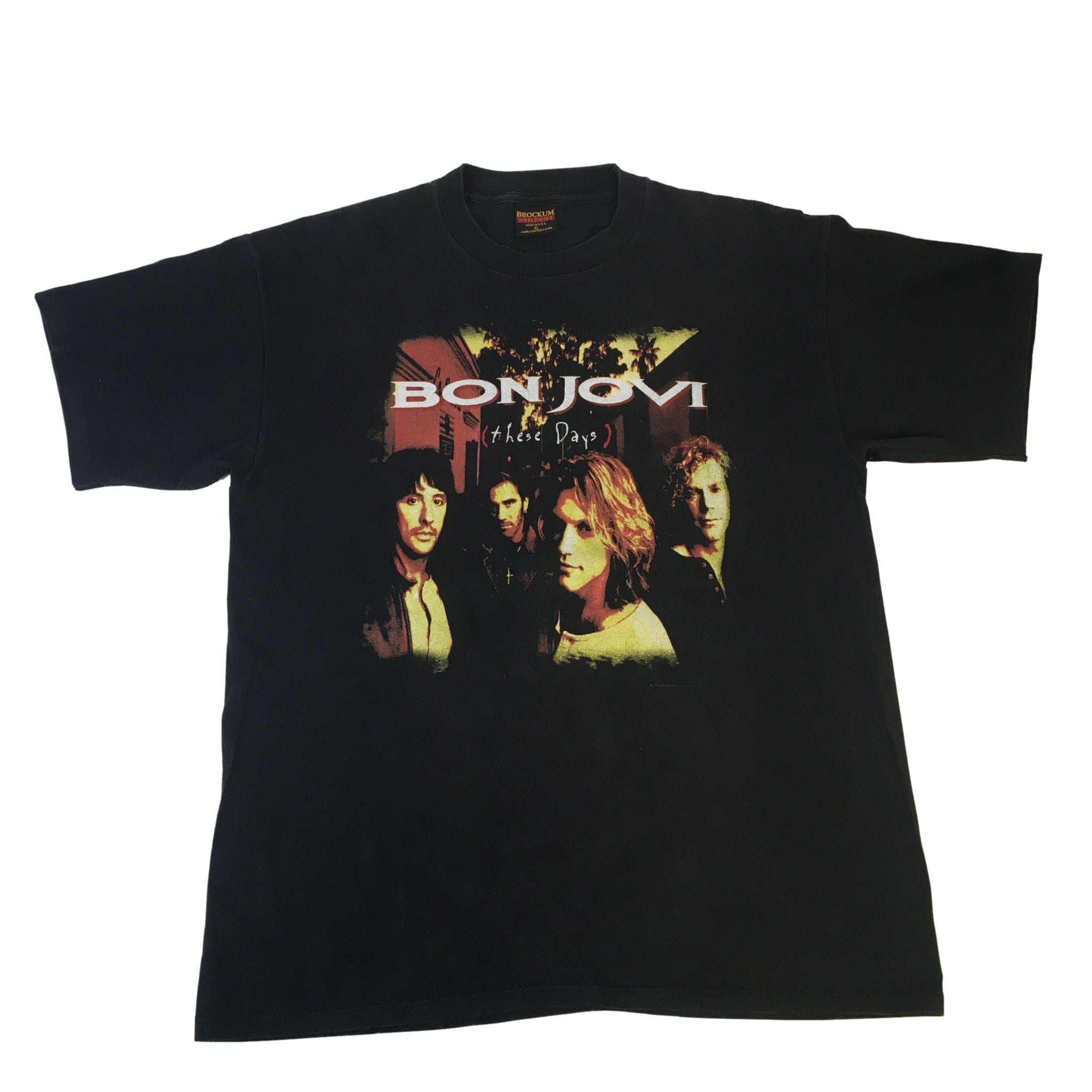"Vintage Bon Jovi ""These Days"" T-Shirt"