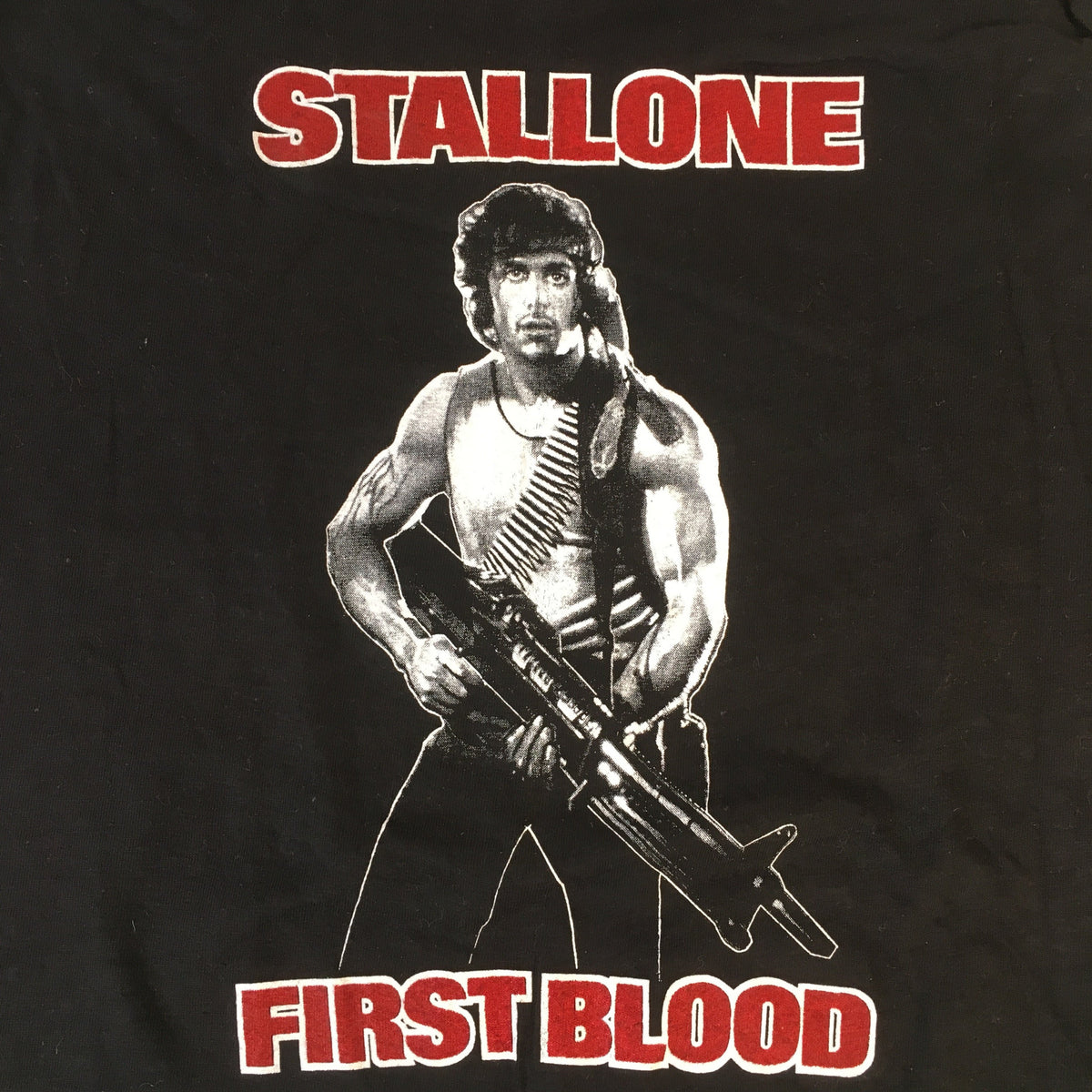 "Vintage First Blood ""Stallone"" Sleeveless T-Shirt"