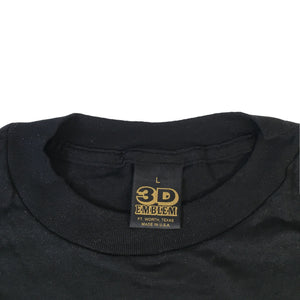 "Vintage Girls N Guns ""3D Emblem"" T-Shirt"