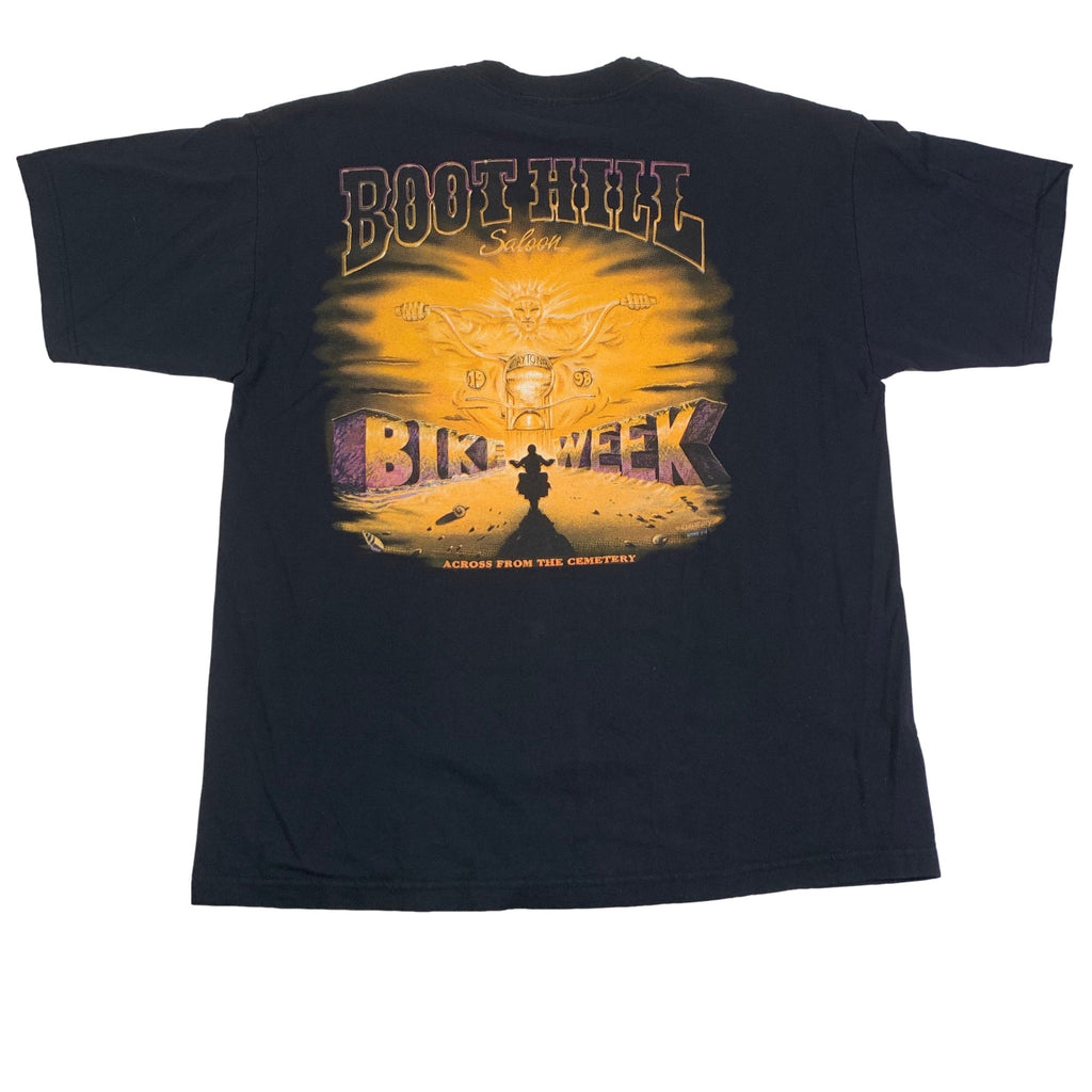 "Vintage Boot Hill Saloon ""Bike Week 98"" T-Shirt"
