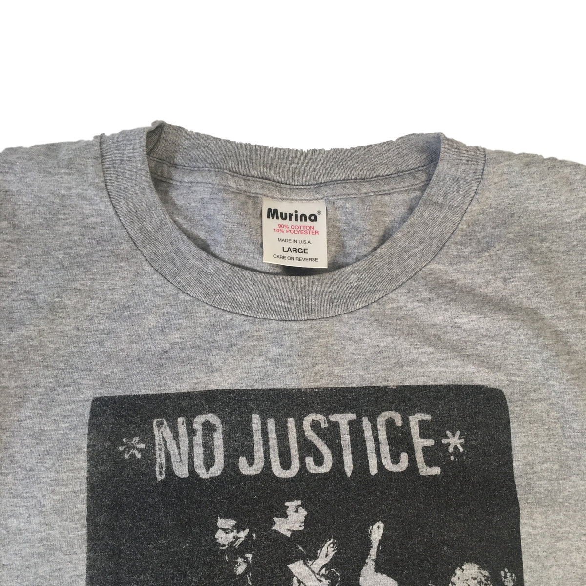 "Vintage No Justice ""Still Fighting"" T-Shirt"